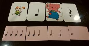リズムカードの画像