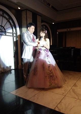 結婚式の様子2