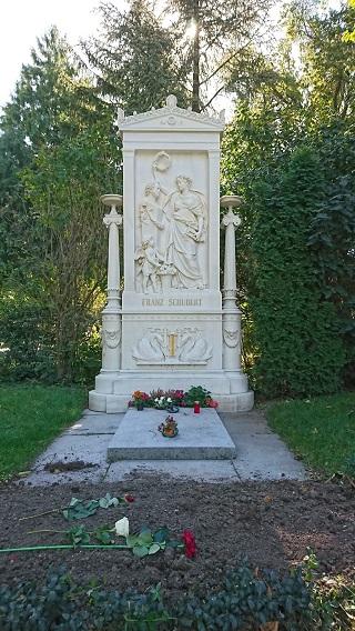 シューベルトのお墓