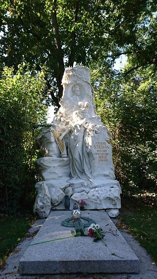 シュトラウスのお墓