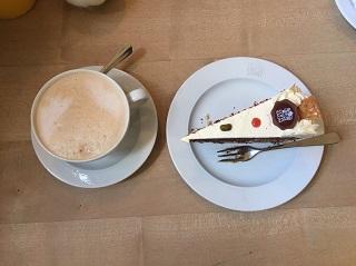 カフェバウムのケーキ