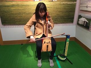 楽器体験コーナー