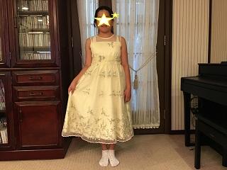 Fちゃんドレス姿