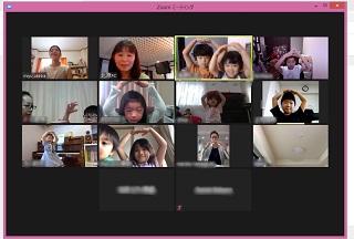 オンライン弾き合い会の様子1