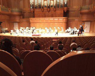 コンサート開演前